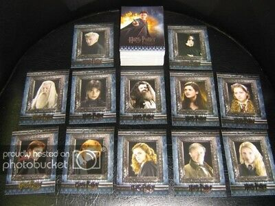 Harry Potter & the Half Blood Prince Movie 90 Card Set - 2009 Artbox