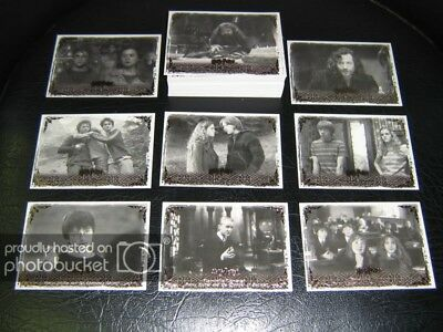 Harry Potter Memorable Moments Series 2 Movie Card Set 2008 Artbox #1-72