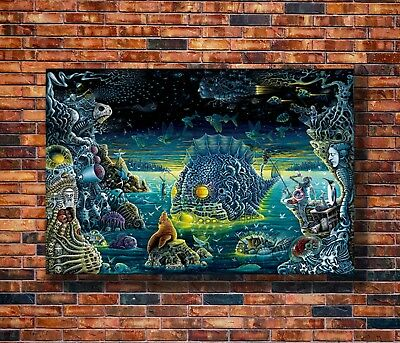 Hot Fabric Poster Tame Impala Psychedelic Rock Music Band 36x24 40x27inch Z2387