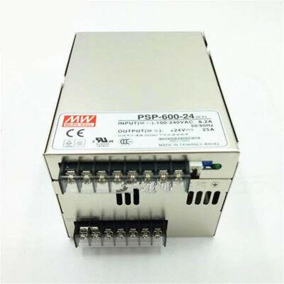1pc New MEAN WELL Switching Power Supply PSP-600-24 ( 24V25A)