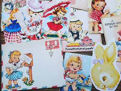 100 Shabby Chic Vintage Paper Doll Retro Kitsch Children Ephemera Paper Journal