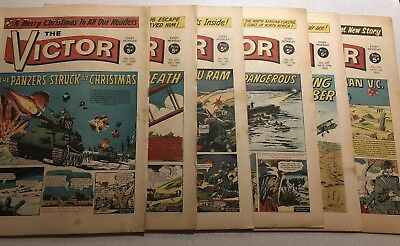 VICTOR COMICS 1965 X 6 Issues Including Xmas Special  + 1 copy of The Hornet