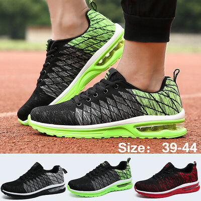 2018 Men's Sport Running Shoes Mesh Casual Breathable Athletic Outdoor Sneakers