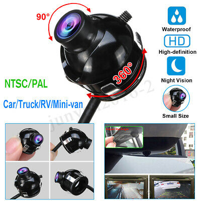 360° HD CCD Night Vision Waterproof Car Side Rear Front View Camera Parking