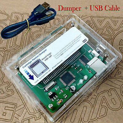 Flash Boy-Gameboy DMG & Color GBC Game Cartridge Dumper Flasher ROM + USB Cable