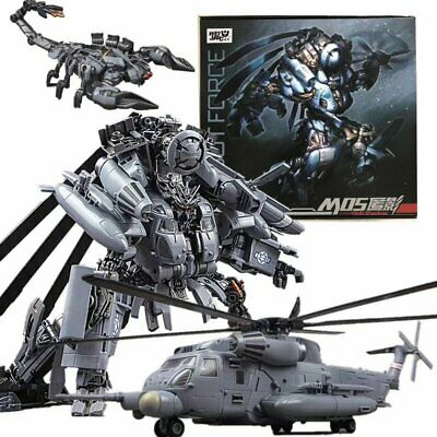WJ Robot Force SS08 Helicopter Model M05 Hide Shadow Action Figure Alloy Version