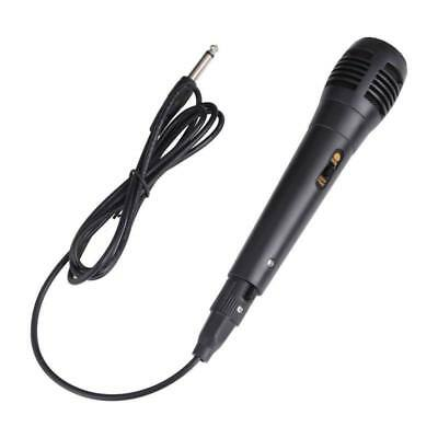 Dynamic Microphone ABS Plastic Handheld Wired Hypercardioid Microphones W/ Cable