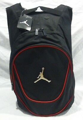 New Nike Air Jordan Jumpman Gym Backpack Laptop Bag Black red Msrp  50 Nwt 4fe8859127f9a