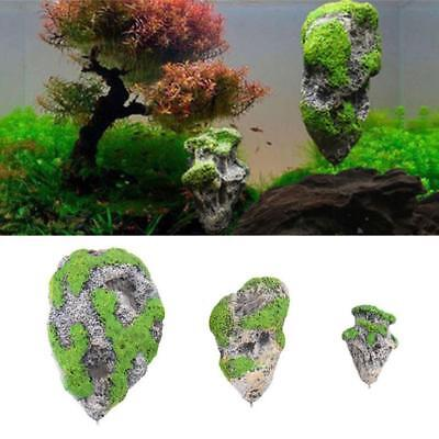 Floating Rock Suspended Stone Aquarium Fish Tank Underwater-Decor Landsca DEKOR
