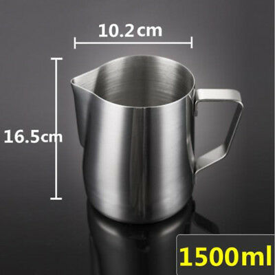 Stainless Steel Milk Coffee Latte Frothing Home Art Jug Pitcher Mug Cup 2019 Hot
