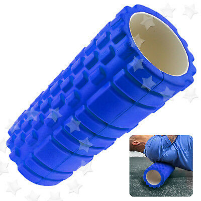 33x14cm Fitness Floating Point/EVA Yoga Foam Roller for Physio Massage Pilates