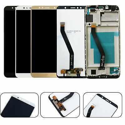 LCD Display Touch Screen Digitizer Assembly w/ Frame per Huawei Y6 2018