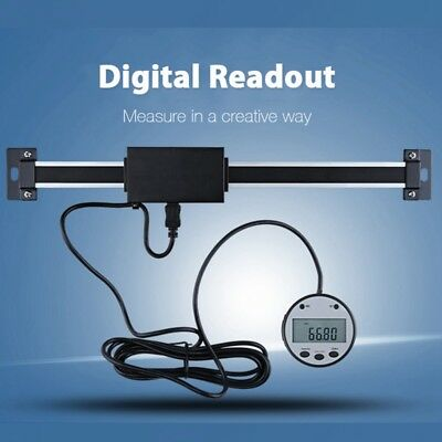100-500mm Digital Readout Linear Scale 0.01mm Magnetic Remote External Display