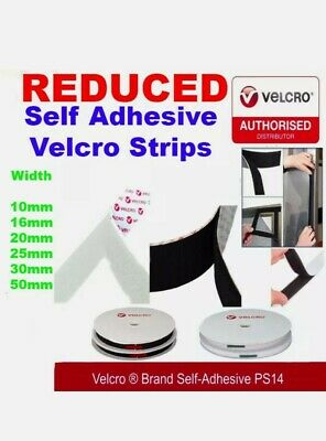 Velcro® Genuine Brand Ps14 Self Adhesive Stick On Tape Hook & Loop Strips.