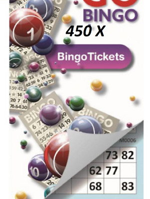 600 X Games Jumbo Bingo Tickets 6 To View Jumbo Bingo Books