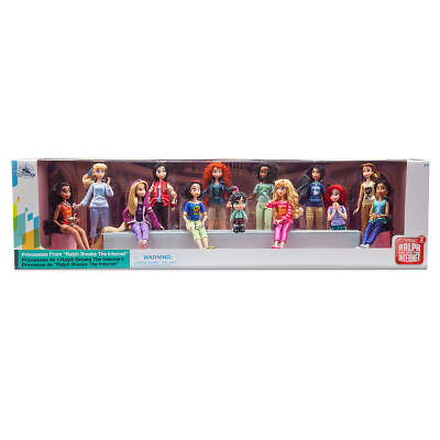 Disney Store Ralph Breaks the Internet Doll Set Vanellope with Princesses