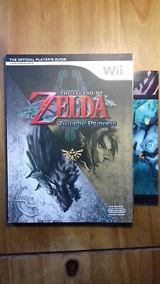 Zelda Twilight Princess Official Strategy Guide *complete With Poster*