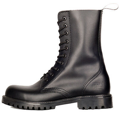 MODE WICHTIG 8 Eye Classic Boots Leather Stiefel ohne