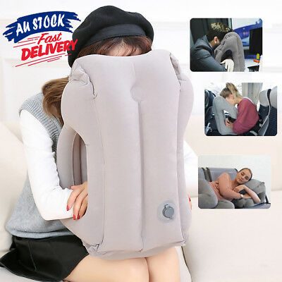 Comfortable Inflatable Cushion Neck flight Support Nap Air Travel Pillow