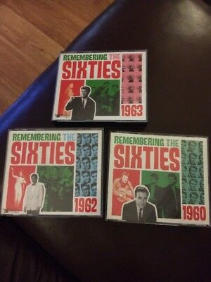 READER'S DIGEST REMEMBERING THE SIXTIES 1960,1962 & 1963 Vgc With Booklets