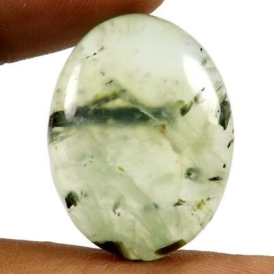 37.85 cts Natural Superb Quality Prehnite Untreated Gemstone Oval Loose Cabochon