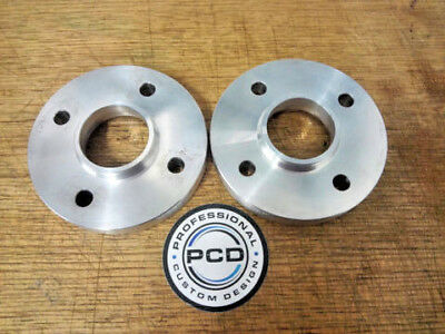 USED/ B Grade Pair 4x100 Hubcentric Spacers 15mm Wide 60.1CB CLIO MEGANE UK Made