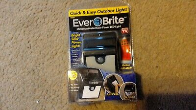 Ever Brite Outdoor Led Motion Light AS SEEN ON TV USA SELLER