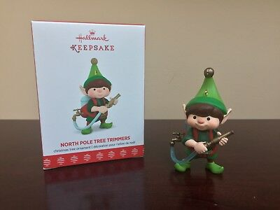 2017 Hallmark Ornament North Pole Tree Trimmers   #5 in Series