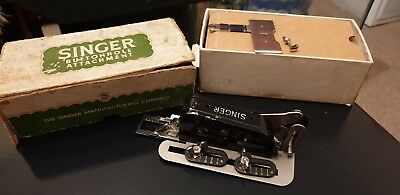 Vintage Singer Sewing-Singer Button Holer 86662