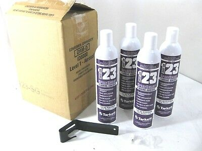 123 SG Spray Smart Platinum Flooring Adhesive 22oz For VCT ONLY 4 Cans + Lever