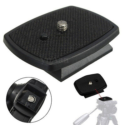 Tripod Quick Release Plate Screw Adapter Mount Head For DSLR SLR Camera PLV