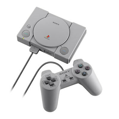 Sony PlayStation PS1 Classic Mini Retro Console with 2 Controllers & 20 Pre-Inst