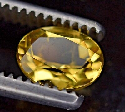 Héliodore 1.25ct (yellow Béryl untreated unheated AAA grade) TOP QUALITY!!!