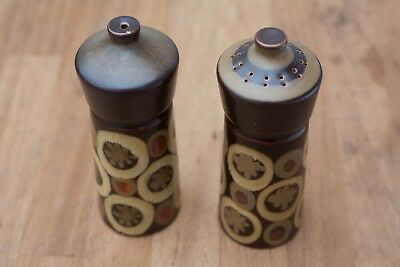 Denby Arabesque Salt and Pepper pots