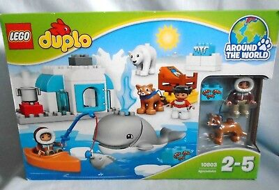 Lego Duplo Around The World Arctic Set 10803 With Large Whale