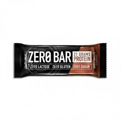 Biotech Usa Zero Bar 1X50 Gr Barrette Proteiche Double Chocolate