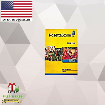 Rosetta Stone English American Level 1 New in Box
