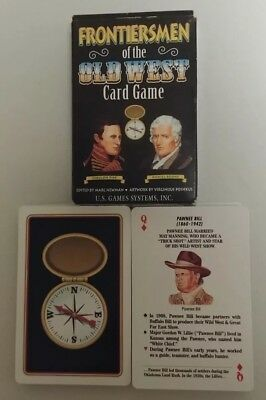 Frontiersmen of The Old West Playing Cards Deck New