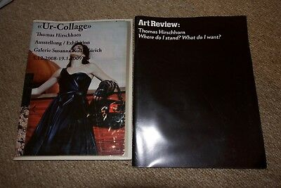 ART REVIEW MAGAZINE Special Thomas Hirschhorn Edition + Ur-Collage Catalogue