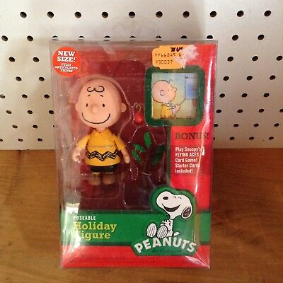 Peanuts Charlie Brown Poseable Holiday Figure                               B774