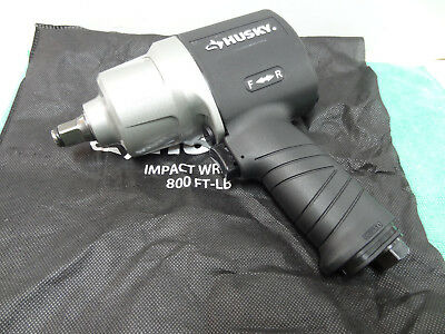NEW Husky H4480 Impact Wrenches 1/2 in. 800 ft. -lbs.