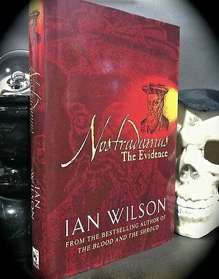 WILSON: NOSTRADAMUS BIOGRAPHY - THE EVIDENCE * 2002 HC w/ D/J * ASTROLOGY OCCULT