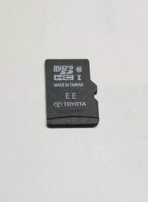 2017 UPDATE Toyota Navigation Micro SD Card GPS Map Chip OEM