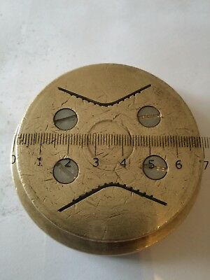 Brass Pasta Die for bottene pasta machine 36035 bottene invert 7 Bottene PM80