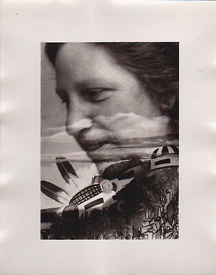 DIANA DI PRIMA * Multiple-Exposure Portrait * VINTAGE Iconic Rare c.1960s photo