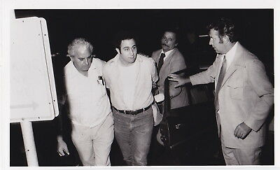 SON of SAM * SERIAL MURDERER in Custody! * NYC * Rare VINTAGE 1977 press photo