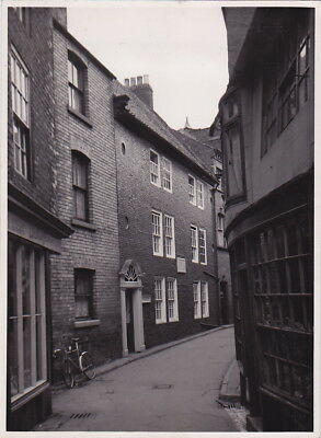 CAPTAIN COOK'S HOUSE Whitby ENGLAND by G. DOUGLAS BOLTON * VINTAGE c.1950s photo