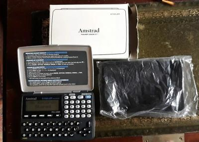 AMSTRAD POCKET DOCK-IT E-Mailer Databank PD-i 2000 Vintage