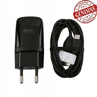 Genuine HTC TC P900 Mains Fast EU Charger & USB Cable 1.5A For HTC One M7 M8 M9