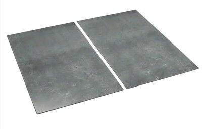 2 x Glass  Chopping Boards Cooker Hob Cover Protector Worktop  German Quality